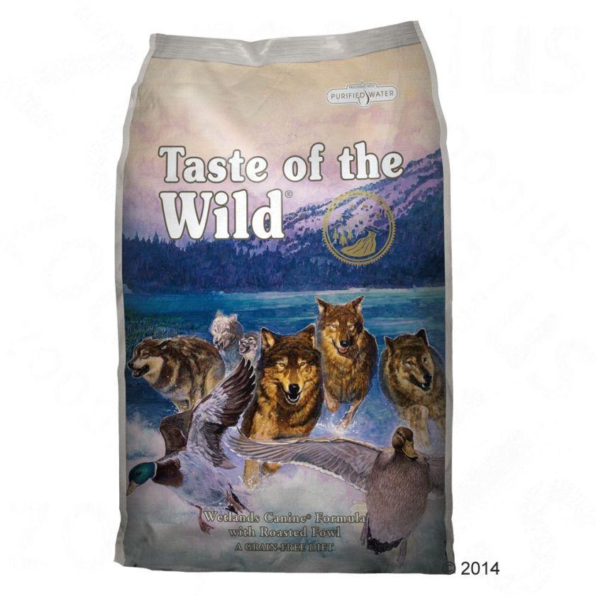 2kg Wetlands Canine Taste of the Wild - Croquettes pour Chien