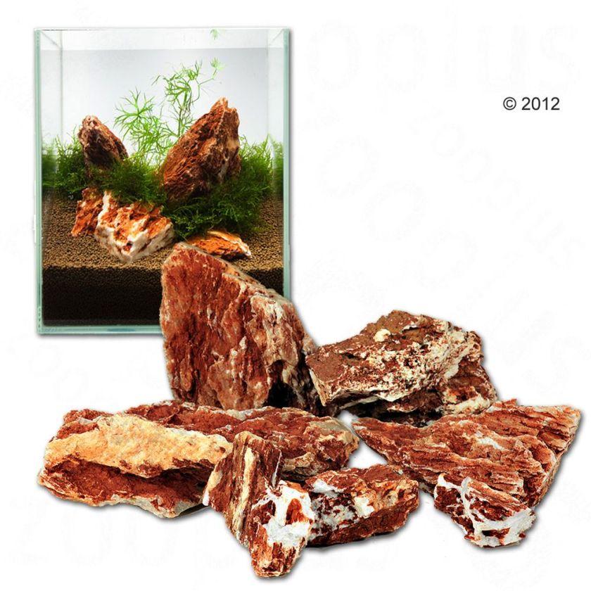 Pierres samouraï pour aquarium - kit 120 cm : 10 pierres naturelles, 24 kg environ