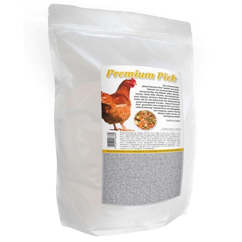 Mucki Premium pour poule - 2 x 15 kg