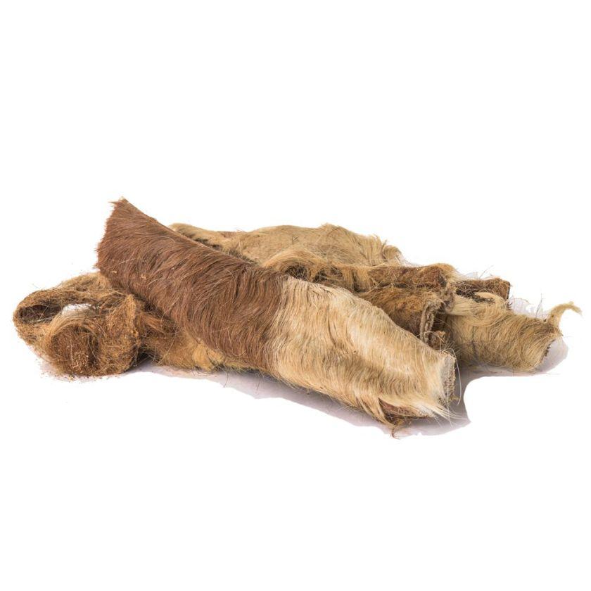 1000g en peau de bœuf avec fourrure Canibit - Friandises pour Chien