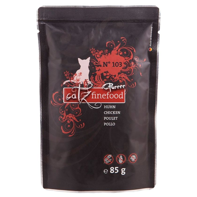 Catz Finefood Purrrr 8 x 80/85 g pour chat - No. 107 kangourou (8 x 85 g)