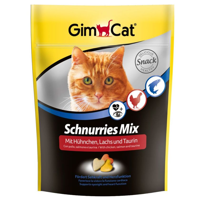 Schnurries Mix GimCat 140g - Friandises pour chat