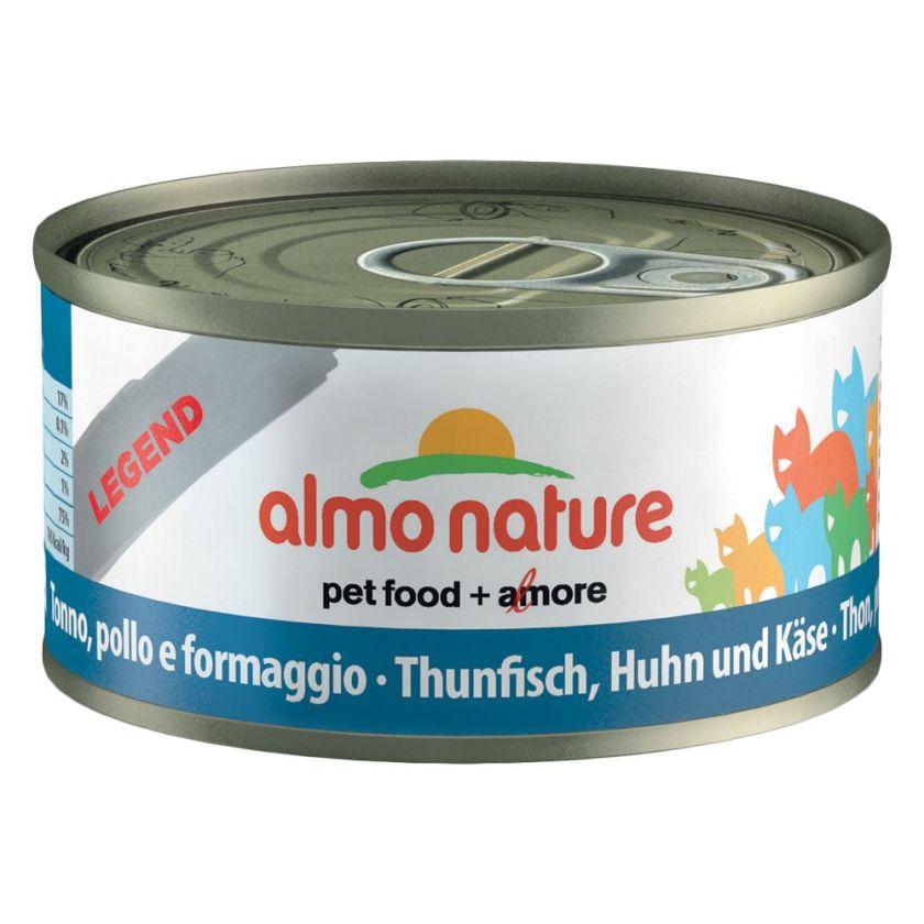 Almo Nature Legend 6 x 70 g pour chat - assortiment de la mer