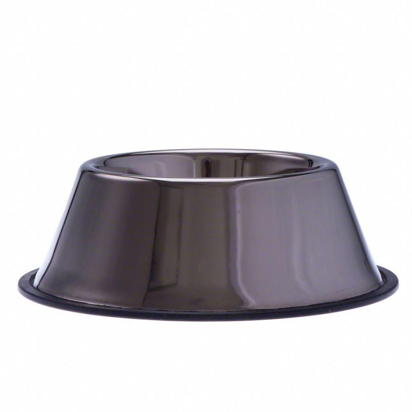 Gamelle en inox pour cocker - capacité : 0,90 L - 25 cm de diamètre