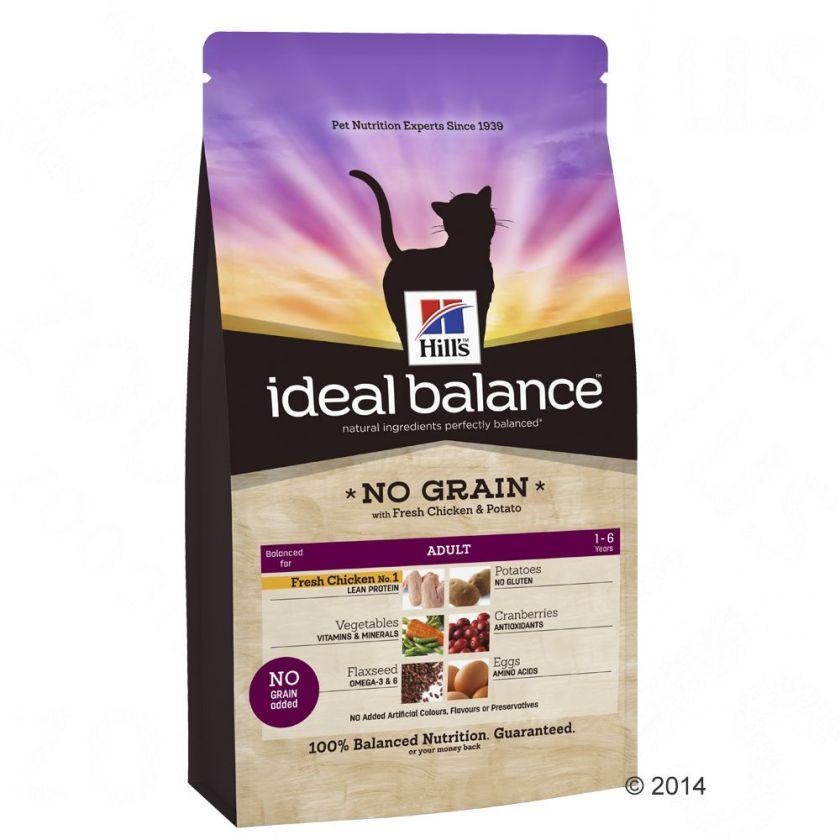 Hill´s Feline Ideal Balance poulet, pommes de terre - 2 kg