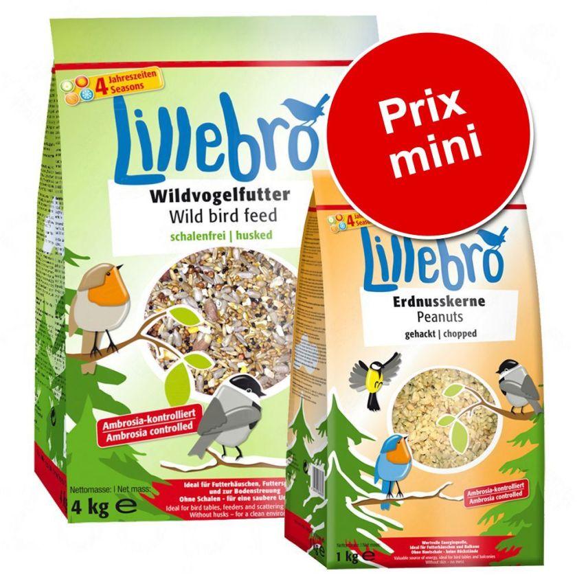 Lot Lillebro nourriture sans déchets + graines d'arachide - 1 lot