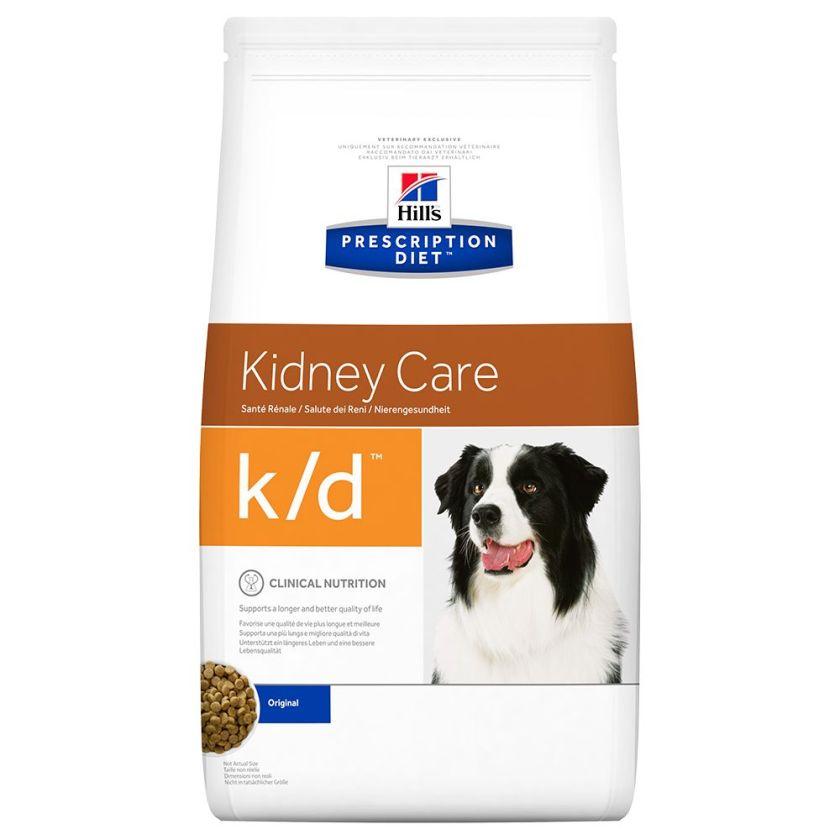 2x12 kg K/D Hill's Prescription Diet Canine - Croquettes chien