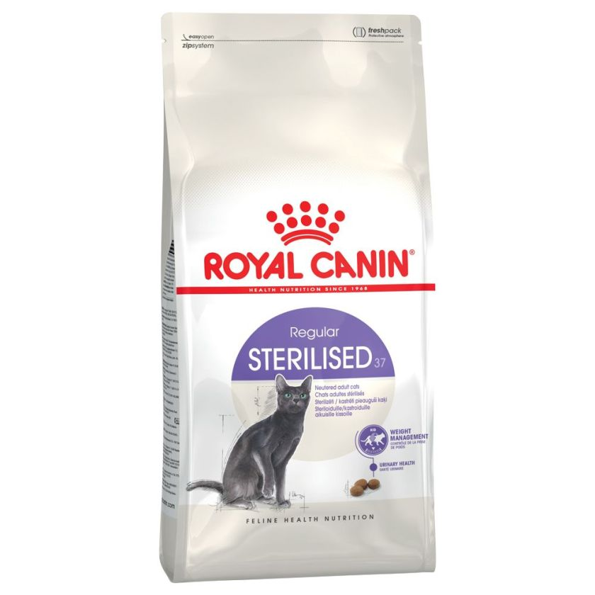 4x85 g Royal Canin Sterilised 37 pour chat