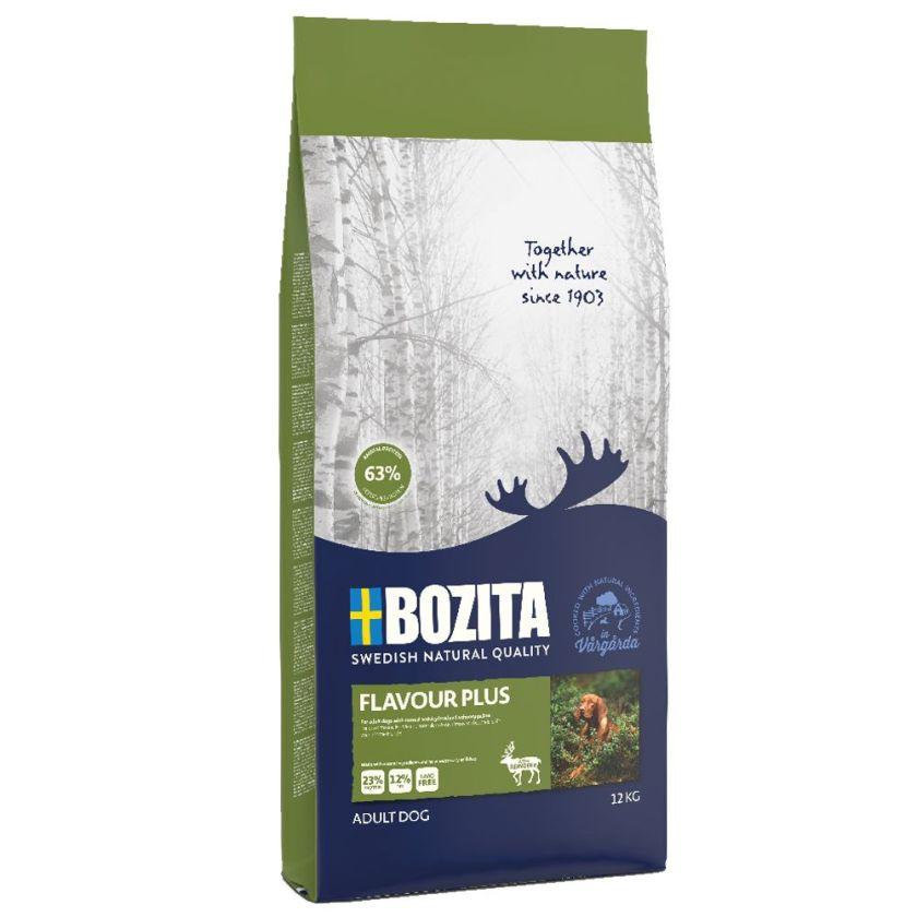 2x12kg Flavour Plus Bozita - Croquettes pour Chien