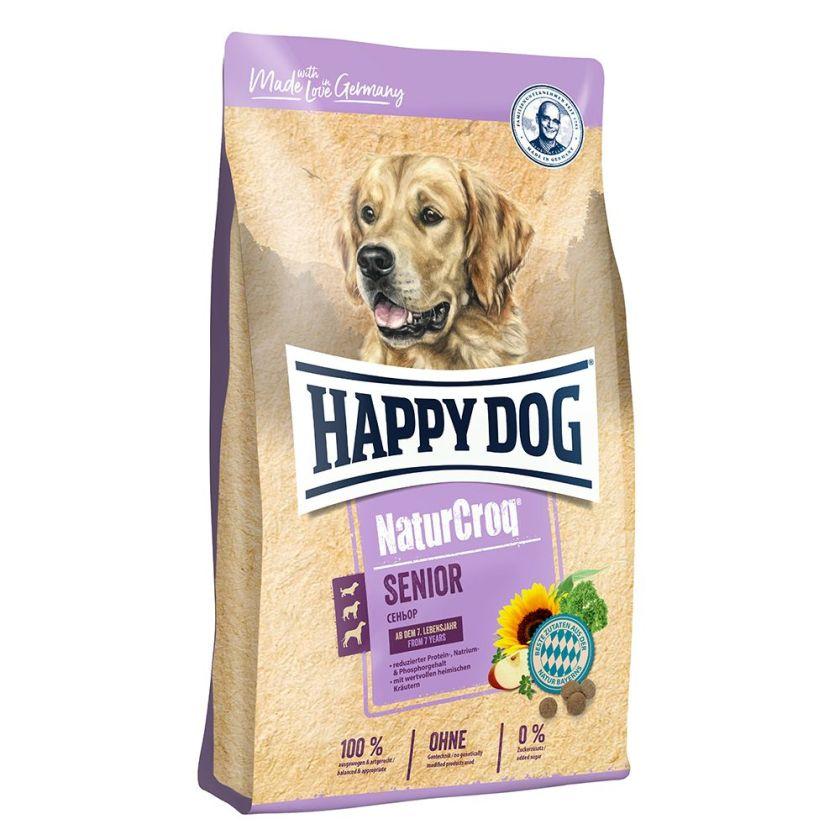 Happy Dog NaturCroq Senior pour chien - 15 kg