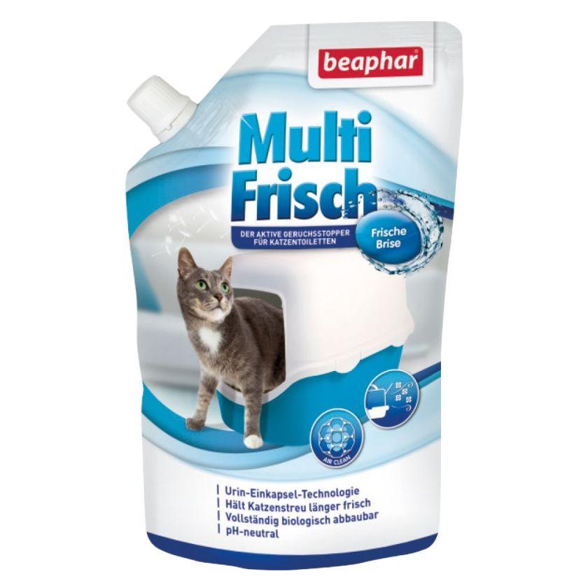 Beaphar Multi-Frisch Désodorisant pour chat - 400g