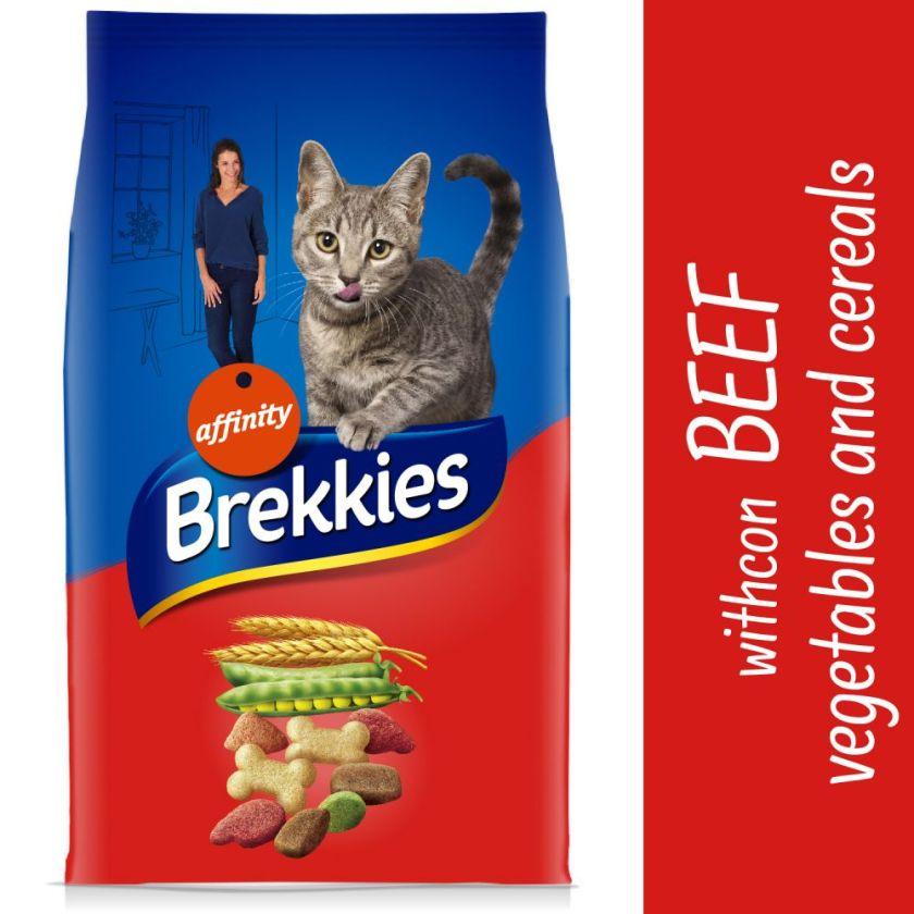 15kg Brekkies bœuf - Croquettes pour chat