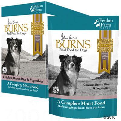 6x400g agneau, riz brun, légumes Penlan Farm Range Burns - Nourriture pour chien