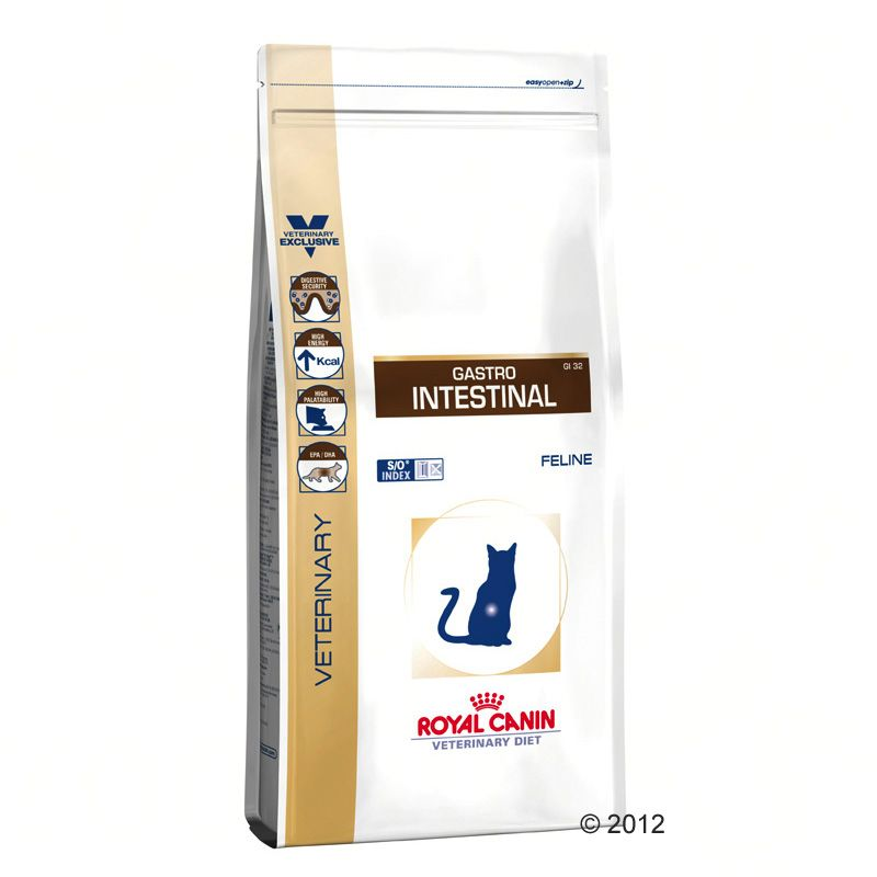 4 kg Gastro Intestinal GI32 Chat Royal Canin Veterinary Diet pour chat