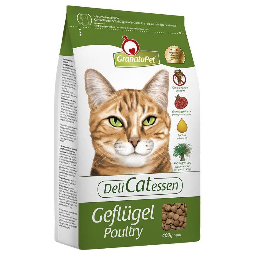 2kg Delicatessen Adult volaille GranataPet pour chat - Croquettes pour chat