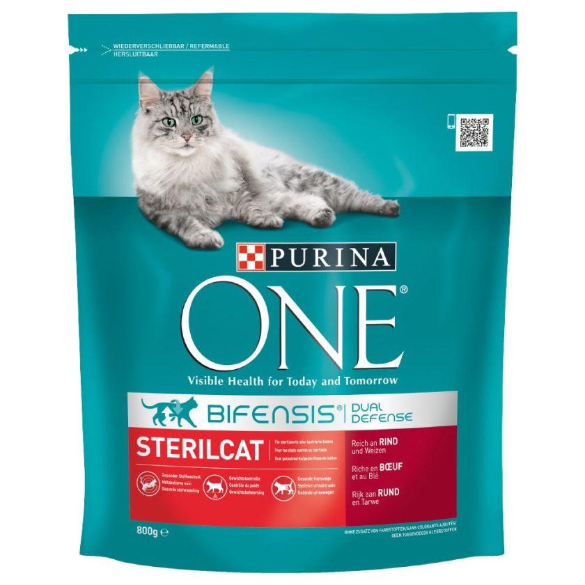PURINA ONE SterilCat bœuf pour chat - 3 x 3 kg