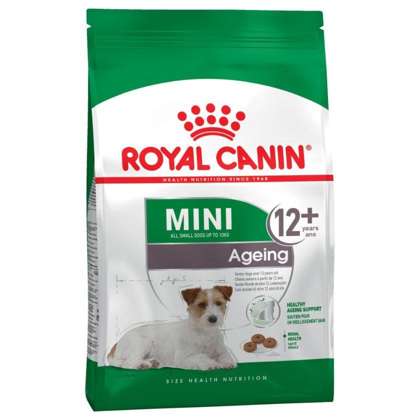 3x3,5kg Mini Ageing +12 Royal Canin pour chien