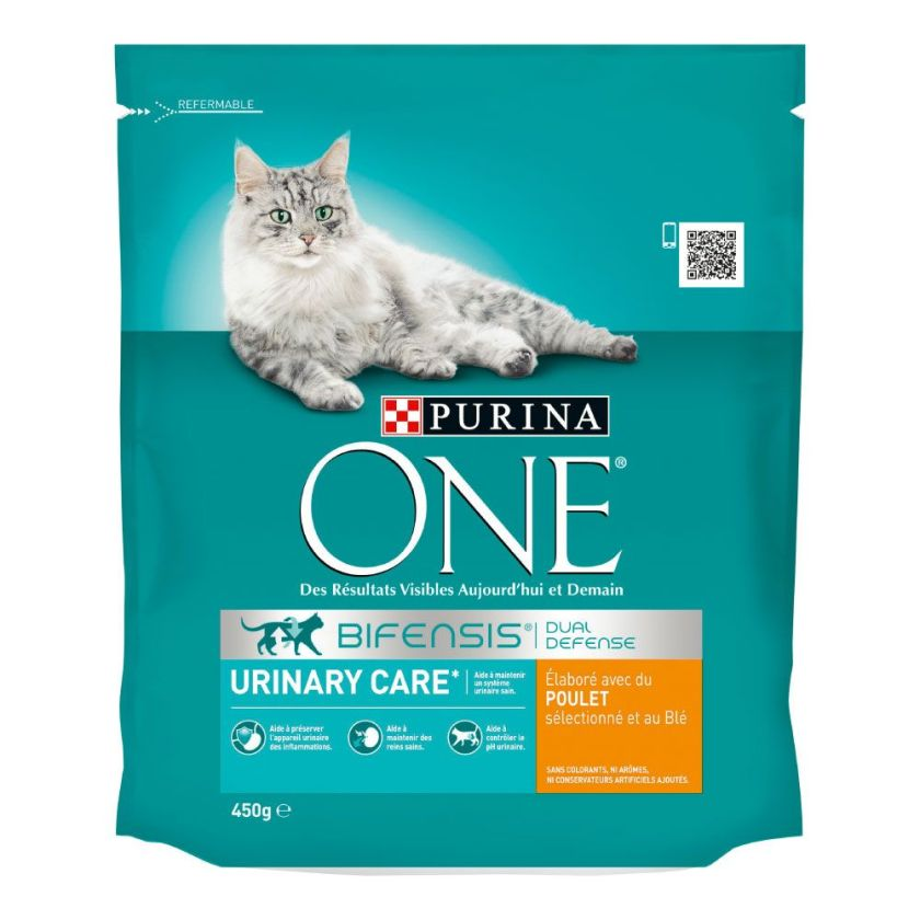 450g Urinary Care poulet PURINA ONE - Croquettes pour chat