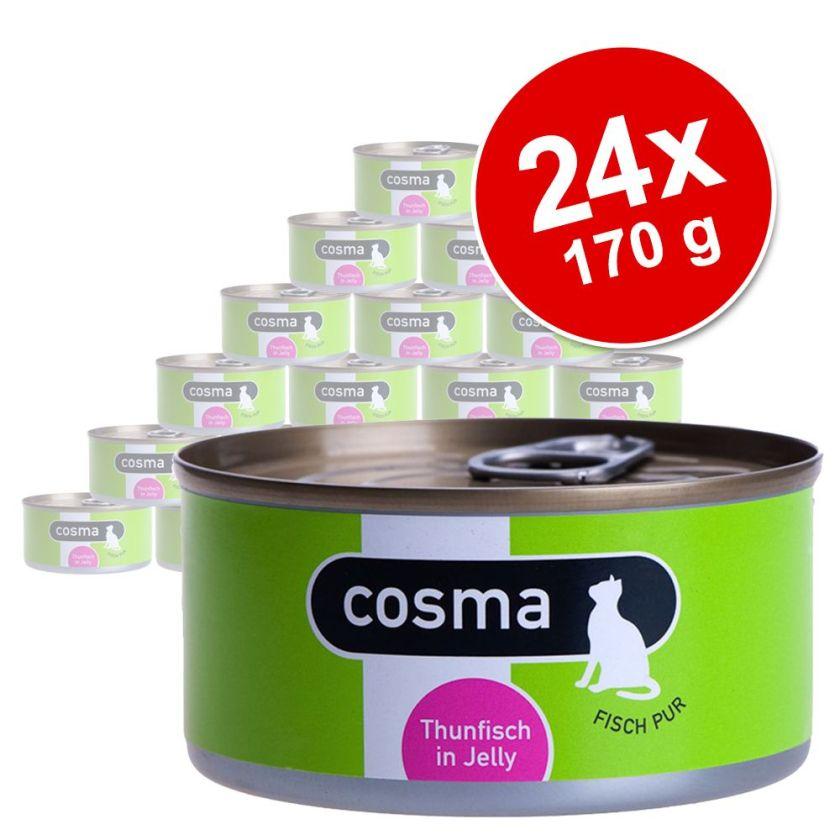 24x170g poulet Cosma - Nourriture pour Chat