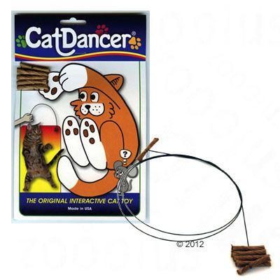 Canne à pêche Cat Dancer pour chat - lot de 3 cannes à pêche