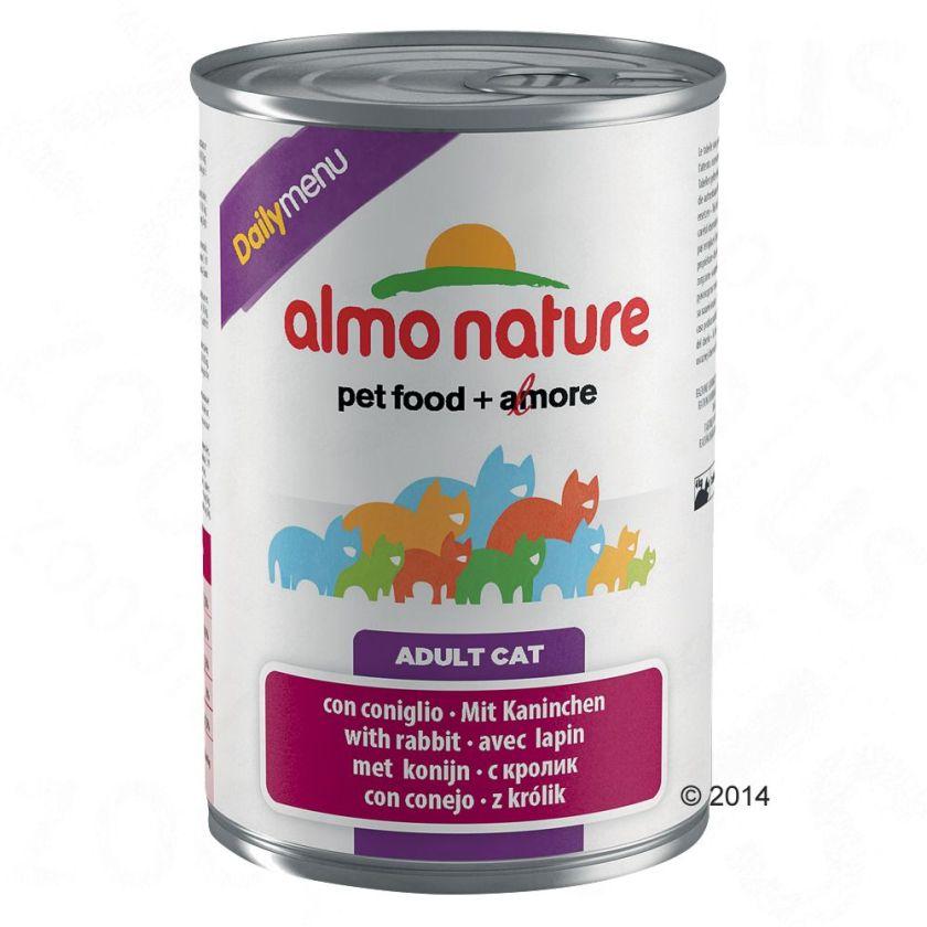 Almo Nature Daily Menu 6 x 400 g pour chat - bœuf