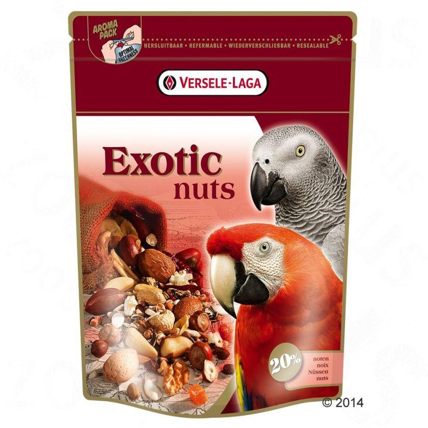 Versele-Laga Exotic Nuts Nourriture pour perroquet - 750 g