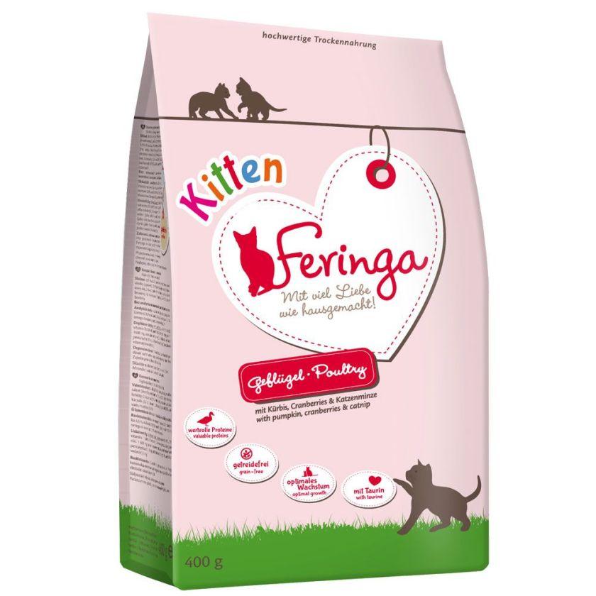 5x2kg Feringa Kitten volaille pour chaton