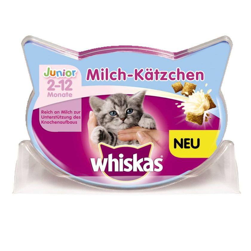66 g Friandises au lait pour chaton Whiskas - Friandises pour chat