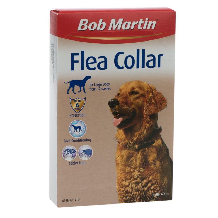 collier antiparasitaire bob martin pour chien longueur 60 cm pour les chiens de grande taille. Black Bedroom Furniture Sets. Home Design Ideas
