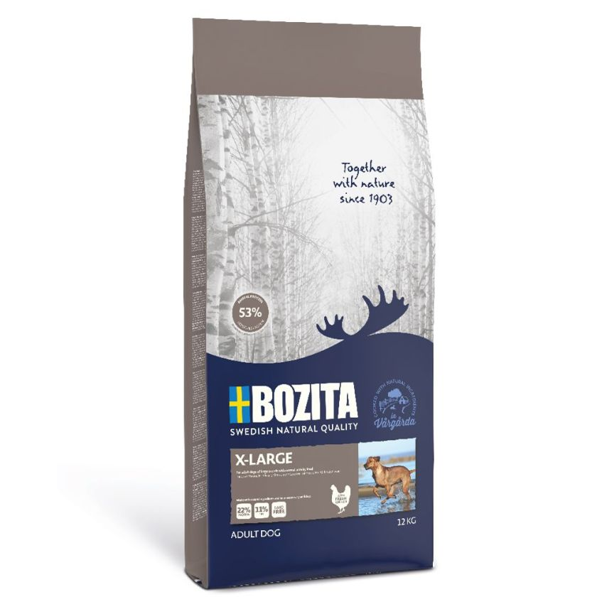 12kg Original X-Large Bozita - Croquettes pour Chien