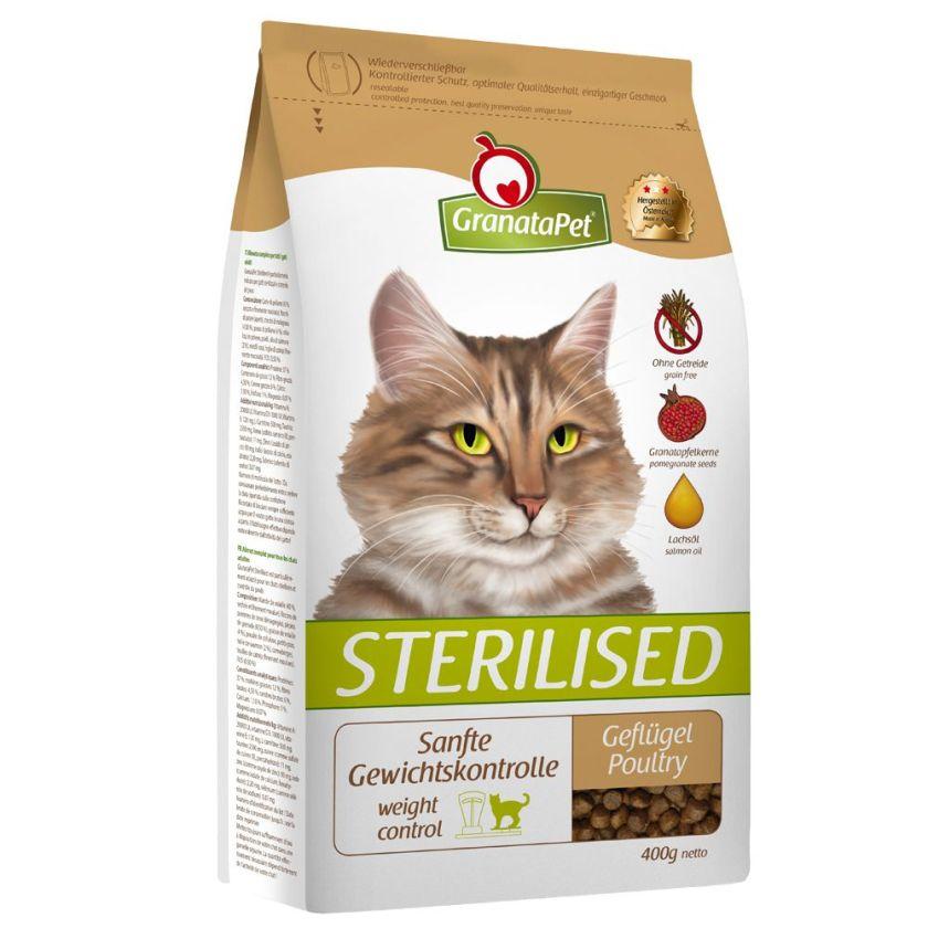 2kg Sterilised volaille GranataPet pour chat