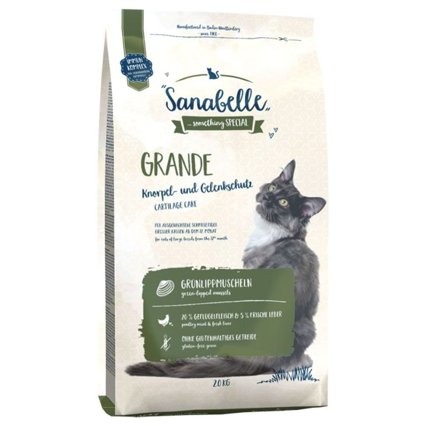 2x2kg Grande Sanabelle pour chat