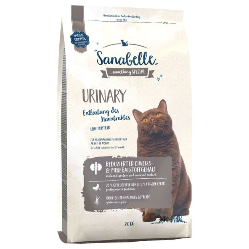 2kg Urinary Sanabelle pour chat