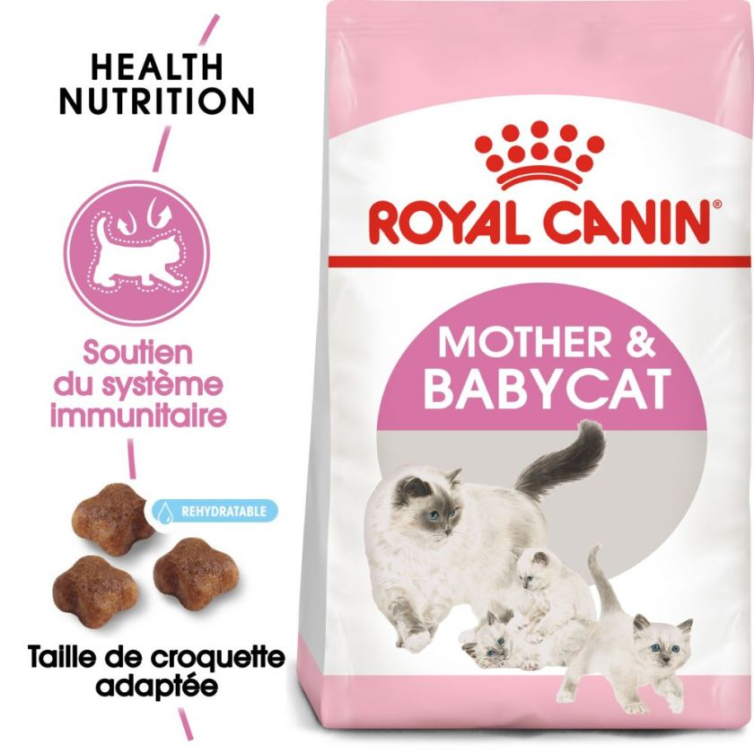 2x10kg Mother & Babycat First Age te et chaton Royal Canin - Croquettes pour Chat