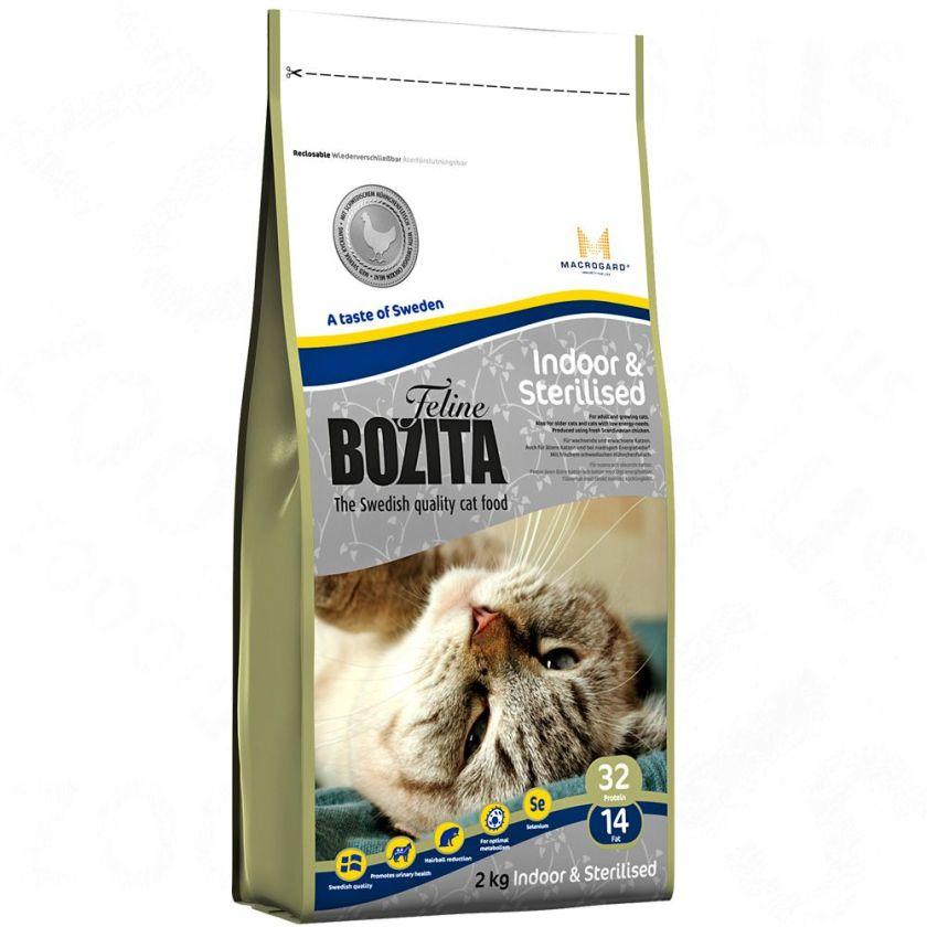 Bozita Feline Indoor & Sterilised - lot % : 2 x 10 kg