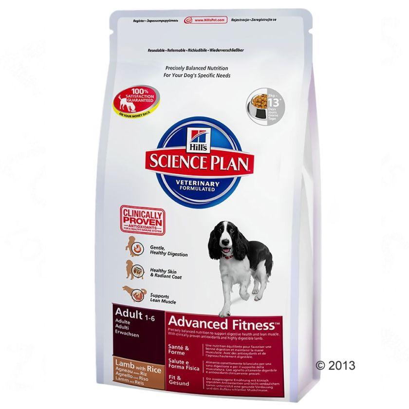 Hill´s Canine Adult agneau, riz pour chien - 2 x 12 kg