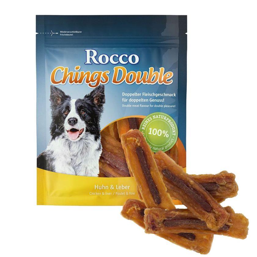 Rocco Chings Double pour chien - poulet, agneau (200 g)