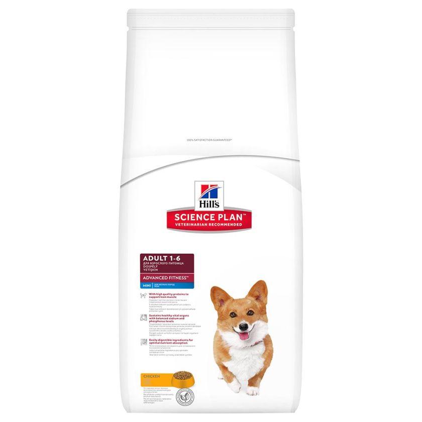 2x7kg Adult Mini Poulet Hill's Canine Croquettes pour chien