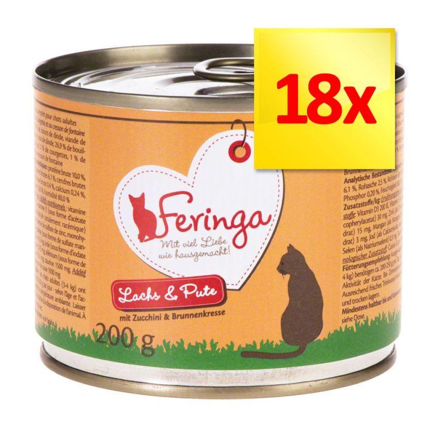 Feringa Menus Duo 18 x 200 g - canard, veau, brocoli, pissenlit