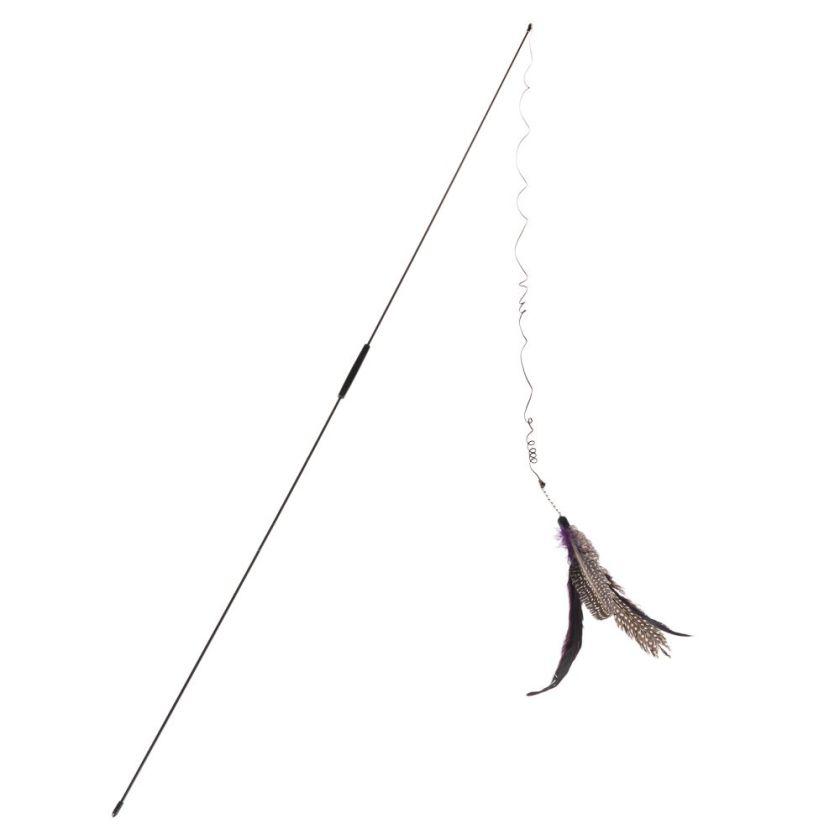 Canne à pêche Bird pour chat - lot de 3 cannes à pêche