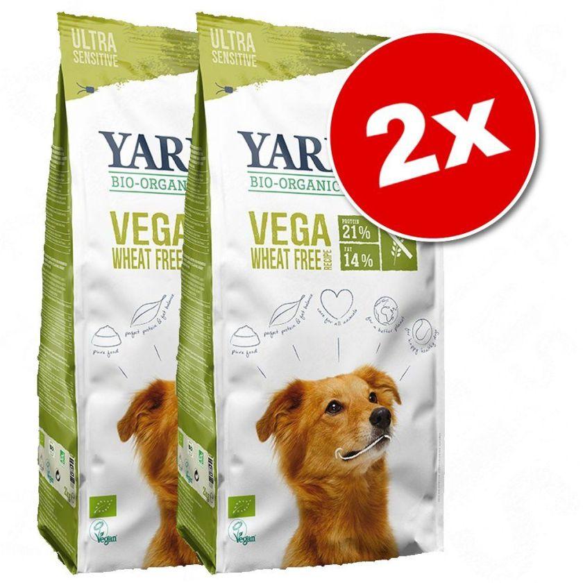 2x15kg Yarrah bio Poulet/céréales Croquettes pour chien