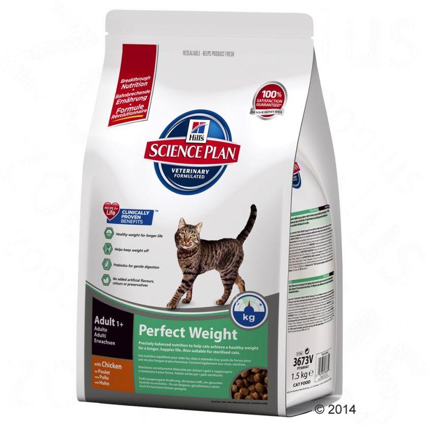 animalerie hill s feline perfect weight pour chat 8 kg animalerie discount en ligne. Black Bedroom Furniture Sets. Home Design Ideas