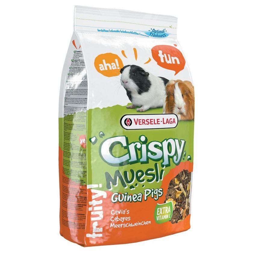 20kg Crispy Muesli Nourriture pour cochon d'Inde