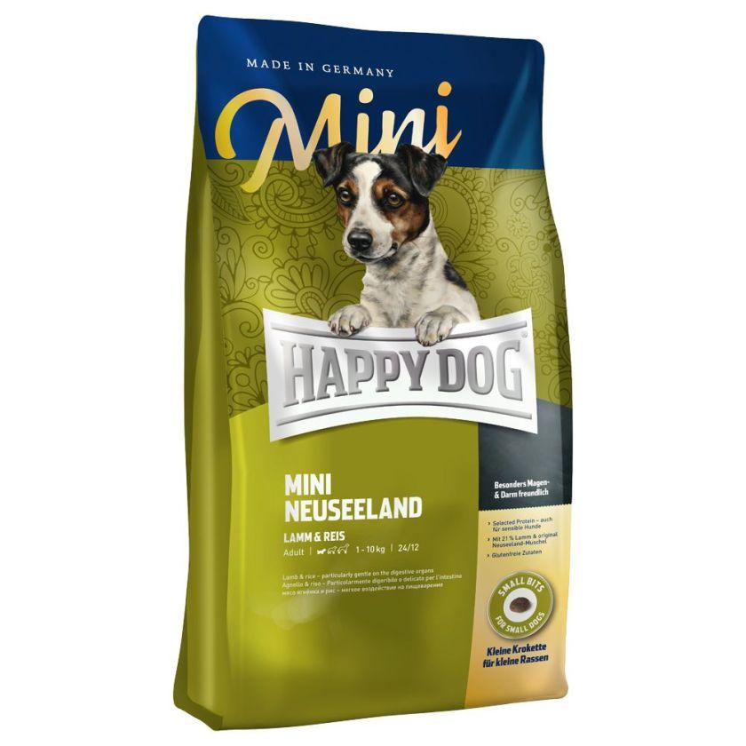 Happy Dog Supreme Mini Nouvelle-Zélande pour chien - 2 x 4 kg