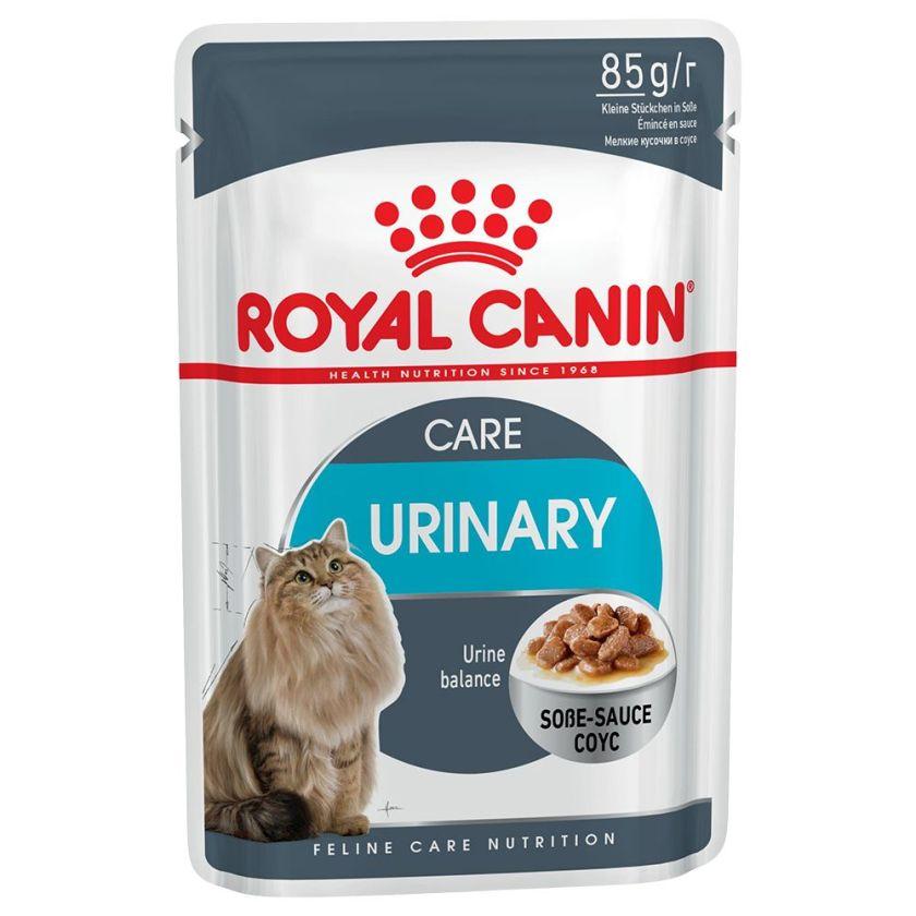 48x85g Urinary Care en sauce Royal Canin Sachets pour chat
