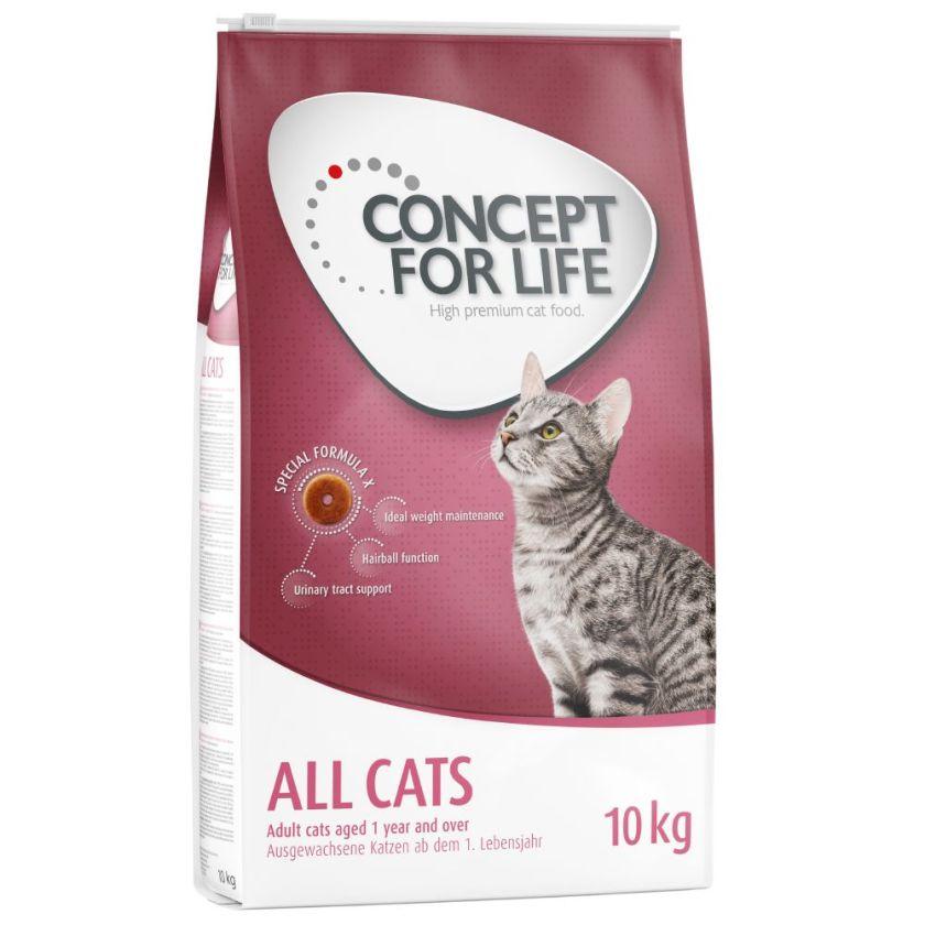 12x85g All Cats en sauce Concept for Life - Nourriture pour chat