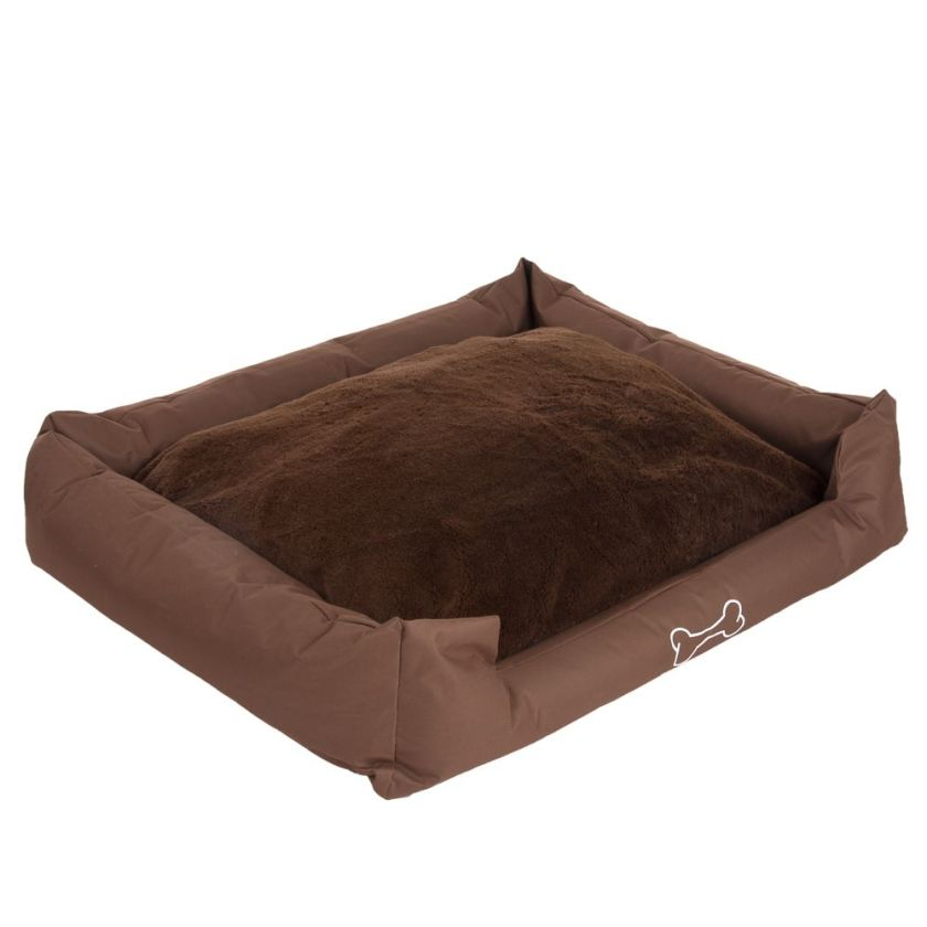 Panier Strong&Soft Premium, marron pour chien - L 80 x l 67 x H 22 cm
