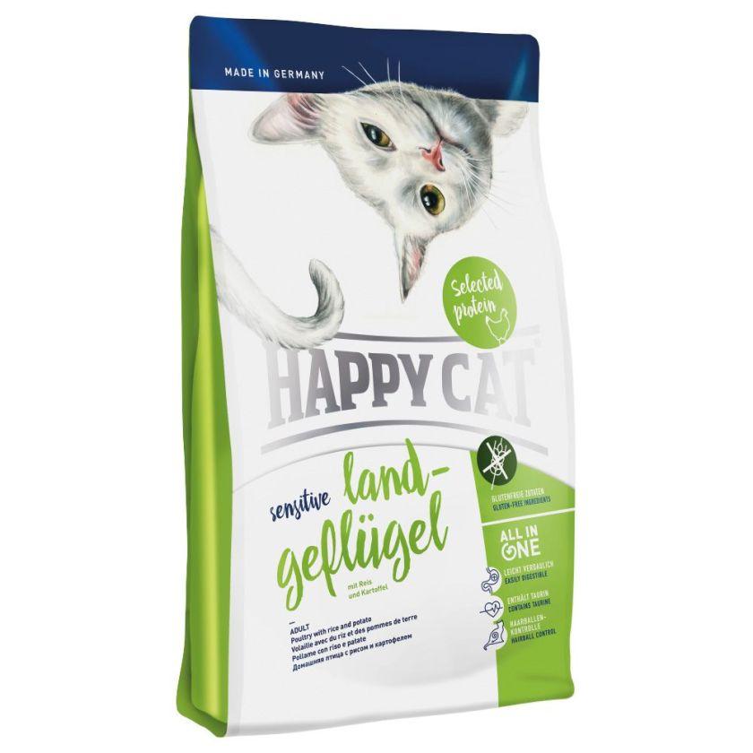Happy Cat Sensitive, volaille de pays pour chat - 4 kg