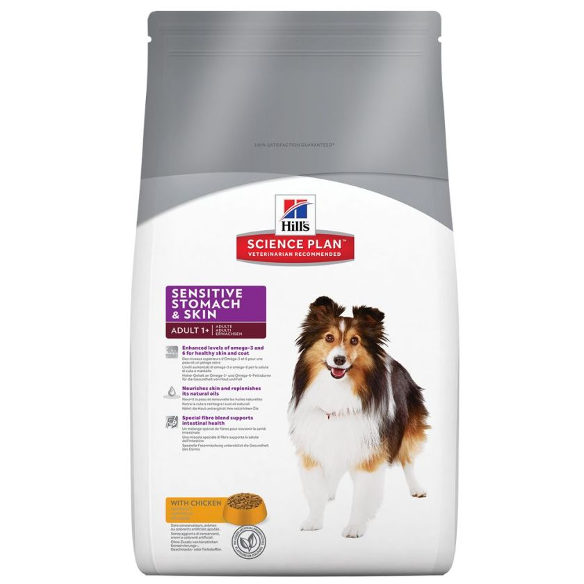 Hill´s Science Plan Canine Sensitive Stomach & Skin - 12 kg