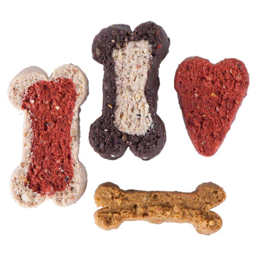 DogMio Barkis friandises pour chien (semi-humides) - 450 g de friandises (recharge)